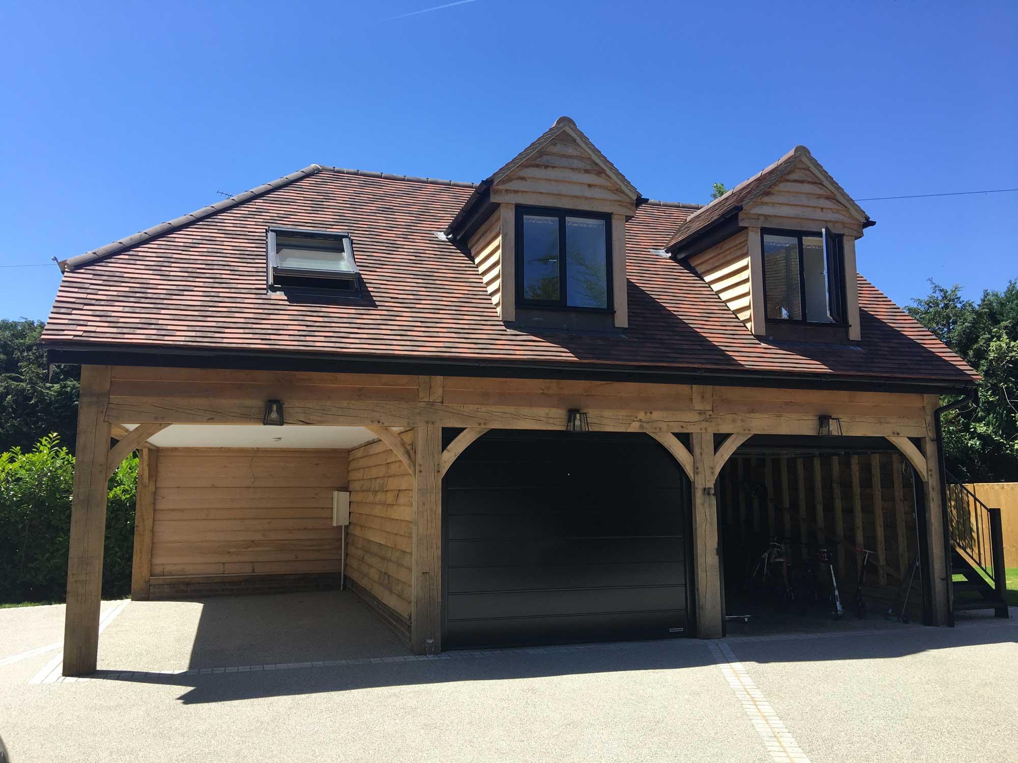 Oak Framed Garages – Oaksmiths